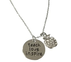 Teacher Necklace- Teacher Jewelry - Teacher Appreciation Thank You Gifts - $12.50