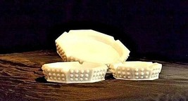 Hobnail Set of Ashtrays AA18 - 1014 Vintage image 2