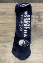 Callaway Golf Club Great Big Bertha Hawk Eye Blue Titanium Driver Head Cover - $13.40