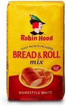 Robin Hood Bread & Roll Homestyle White Flour 2 x 1.36kg bags Canada - $79.99