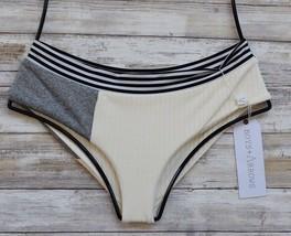 Boys + Arrows Swim Primal Rev. Makaveli Full Banded Bikini Bottom Nwt (M) $119 - $90.00