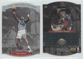 1995-96 Upper Deck SP NBA All Stars SILVER Die-Cut Clyde Drexler Houston... - $3.12