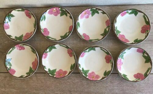 "Set 8 Franciscan Desert Rose Dessert Fruit Bowl 5"" New Modern Stamp Replacement"