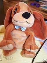 Disney Lady & The Tramp Promo Bean Bag Plush Lady Dog Stuffed Animal Pup... - $18.00