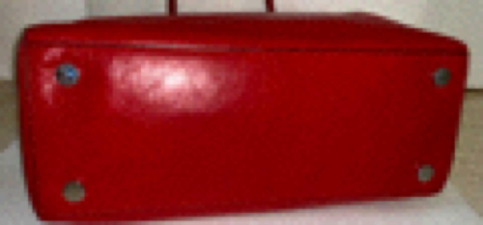 Michael Kors Bedford Red Leather Bag