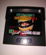 Super Monaco GP II (Sega Game Gear, 1992) Cartridge Handheld Video Game - $14.24
