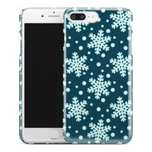 Casestry | Blue And White Snow Storm Flake | iPhone 7 Plus Case - $11.99