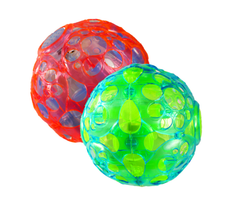 2 LED Jumping Fusion Ball Dancing Vibrating Flashing Blinking Toy Light ... - $14.84