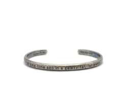 JAM HOME MADE x STAR WARS Introduct message Bangle SILVER Brass F/S Japa... - $97.99