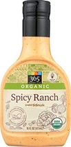 365 Everyday Value Organic Spicy Ranch Dressing, 16 oz