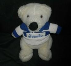 "9"" VINTAGE 1985 COMMONWEALTH BABY BENETTON TEDDY BEAR STUFFED ANIMAL PLU... - $32.73"