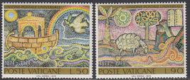 1974 Universal Postal Union Set of 2 Vatican Stamps Catalog Number 548-49 MNH