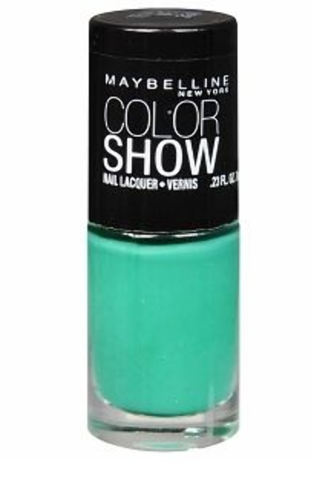 Set of 6 Maybelline Color Show Nail  Polish Assorted Colors Burgundy Taupe Rose