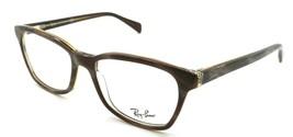 Ray-Ban Rx Eyeglasses Frames RB 5362 5914 52-17-140 Striped Brown - $85.36