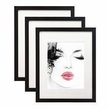 Elabo 11x14 Black Picture Frame 3 Pack - High Definition Plexiglass Disp... - $22.50