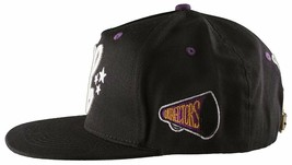 Cousins SportsWear Men's Hollywood Directors Leather Strapback Baseball Hat NWT image 2