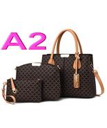 3-Piece Set Women Handbags Fashion Women Shoulder Bags Purses Tote Bags ... - €37,94 EUR