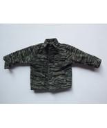 "GI joe Utility Tiger Strip Camo Military Shirt Clothing For 12"" Action F... - $9.49"