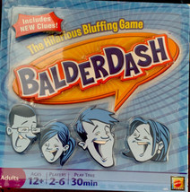 Balderdash Board Game Hilarious Bluffing Game 2009 Mattel Adult Group Party - $15.44