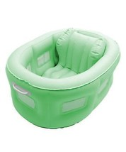 Swim Central 4-in-1 Room to Grow Portable Green Inflatable Baby Bathinet - $127.70