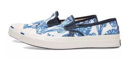 Converse Jack Purcell Signature Tropical Slip Shoes Sneakers Trainers Size 8 UK - $48.59