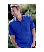 Pocket Polo Golf Shirt Gildan® 8900, Adult, Hot Sports Colors, Cotton Blend - $27.30 CAD+