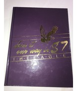 Yearbook Annual Sharon Tennessee The Eagle 1987 High School TN - $46.27