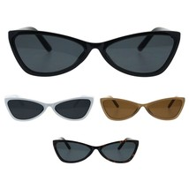 Womens Cat Eye Retro Unique Trendy Goth Sunglasses - $9.95
