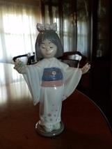 """Lladro Little girl """"Flower Gazer"""" #6152 - $200.00"""