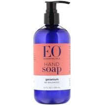 EO Products, Hand Soap, Geranium, 12 fl oz (355 ml) - $10.64