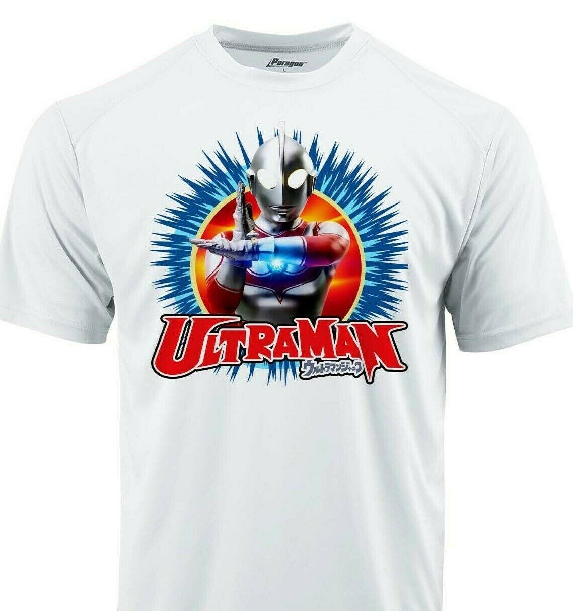 Ultraman II Dri Fit graphic Tshirt moisture wick SPF retro comic sport Sun Shirt
