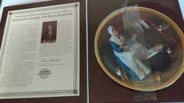 "Norman Rockwell ""Light for the Winter"" Plate - $29.70"