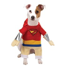 Superhero Dog Costume Halloween Party Size Large Casual Canine ZA63220 - $13.99