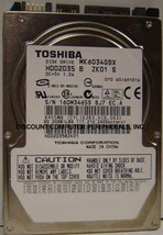 "New 60GB 2.5"" 9.5MM SATA Drive Toshiba MK6034GSX HDD2D35 Free USA Shipping - $39.15"