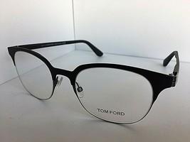New Tom Ford TF 5347 001 Black 51mm Clubmaster Men's Eyeglasses Frame Italy - $94.99