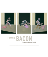 FRANCIS BACON George Dyer Triptych August 1972 Original Giclee Limited S... - $962.42