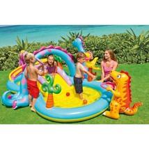 Toddler Play Center Kids Children Outdoor Mini Summer Fun Water Slide Po... - $52.02