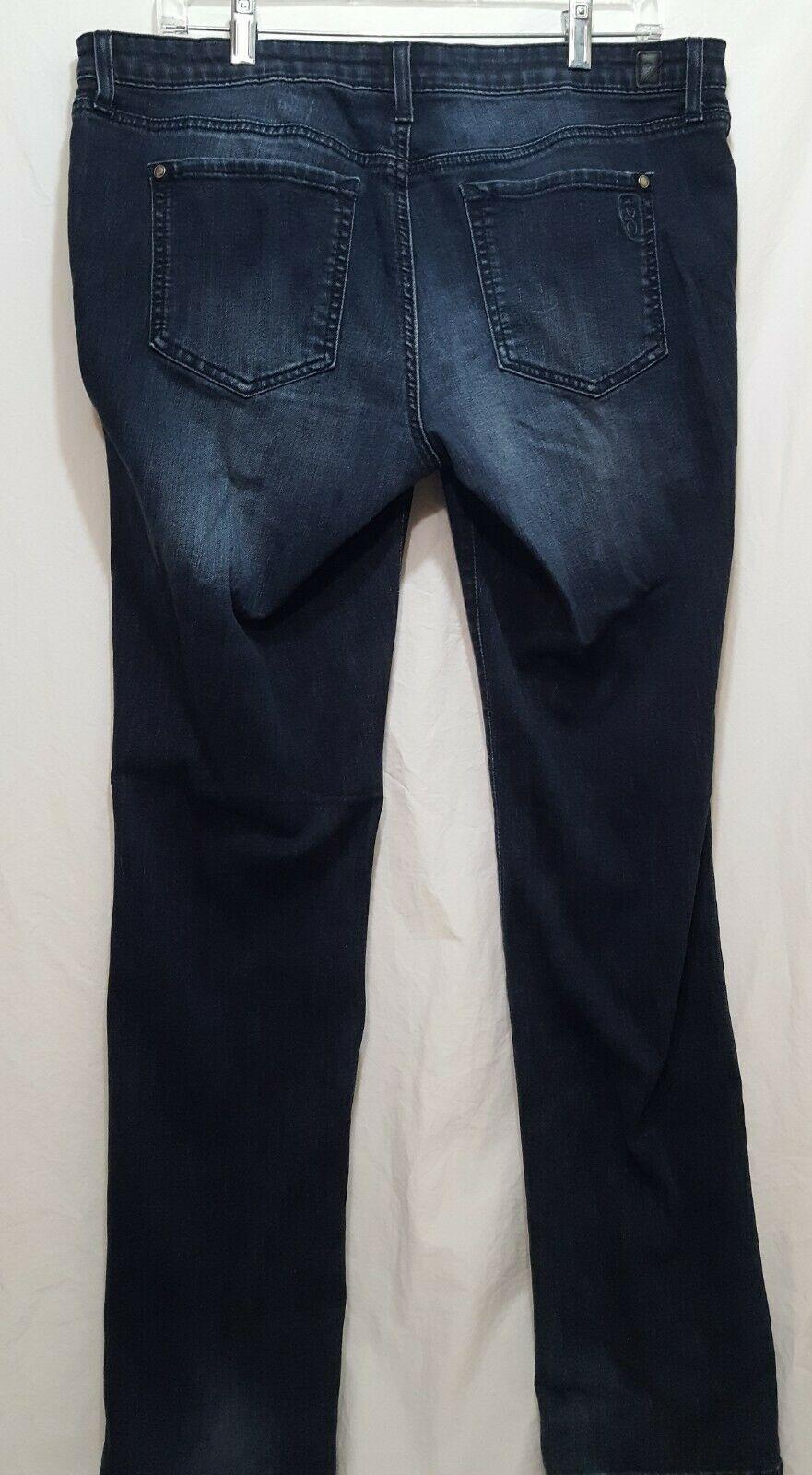 Jessica Simpson Blue Jeans Forever Skinny  Size 32 Denim Straight Leg
