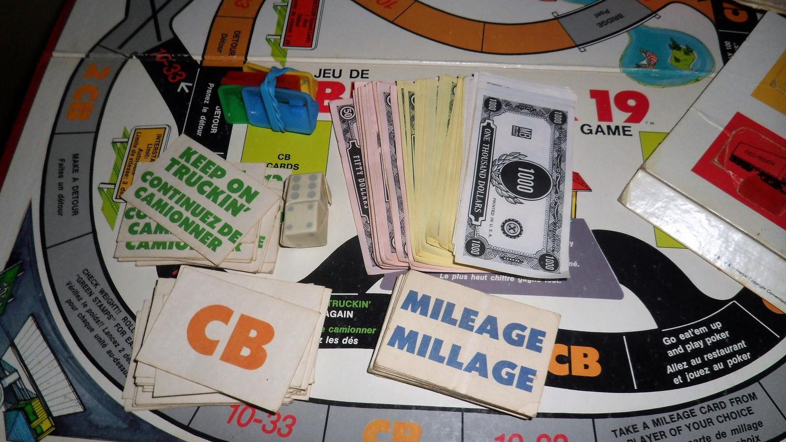 Vintage Milton Bradley BREAKER 19 C.B. Truckers 1976 Board GAME~Complete