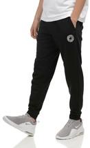 Converse Mens Nova Graphic Jogger  Pant Black 10017677-A01-001 Size Smal... - $37.57