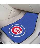 Chicago Cubs Car Mat Set - 2-Pc Carpeted Universal Fit - $34.99