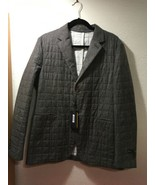 Fendi Italy Blazer Suit Jacket Mens Wool Blend Brown Speckled Italy 52 US L - $350.00