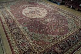 Compex Design Original Red Traditional Persian Wool Handmade Rug 10x16 Rug image 11