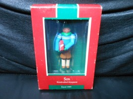 "Hallmark Keepsake ""Son"" 1989 Ornament NEW - $1.39"