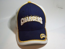 San Diego Chargers Cap Embroidered Velcro Adjustable - $14.84