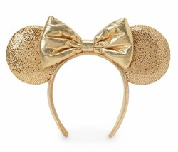 Disney Parks Minnie Mouse Champagne Ear Headband - $42.52