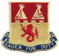 US Army 157th Field Artillery National Guard Colorado Distinctive Unit P... - $9.89