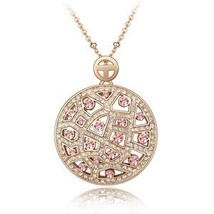 SHDEDE High Quality Crystal from Swarovski Vintage Necklaces Pendants Bi... - $14.33