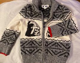 Toddler Boy BABY GAP Star Wars Zip Up Sweater Sz 5 - $24.99