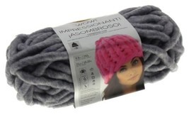 Lion Brand Yarns Wow Grey Garden Skein Ball Acrylic Wool Knit Crocheting... - $7.29